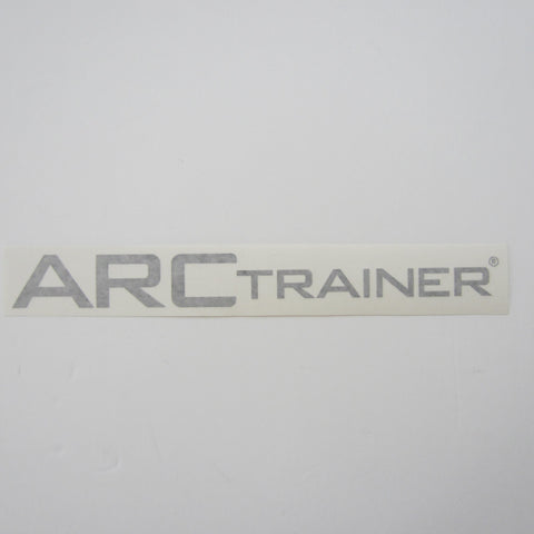 "Cybex ARC Trainer Decal Black 13"" x 1 1/2"""