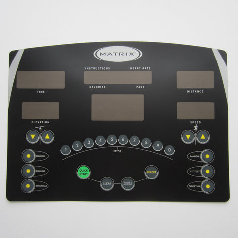 Matrix T5X-G3 Treadmill Overlay