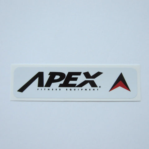 "Apex Frame Decal 6"" x 1 1/2"""
