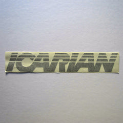 "Icarian Decal 15"" x 2-1/2"""