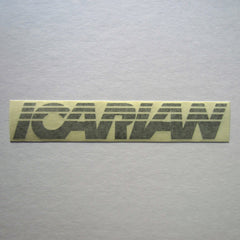 "Icarian Decal 9"" x 1-1/2"""