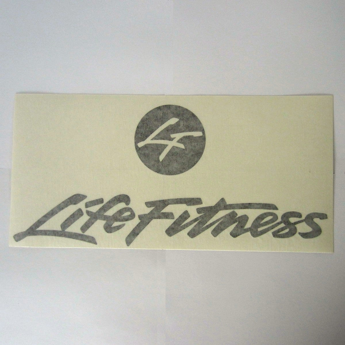 "Life Fitness Shroud Decal 13"" x 6"""