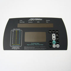 Life Fitness 93Ci/Ri Upper Display Overlay