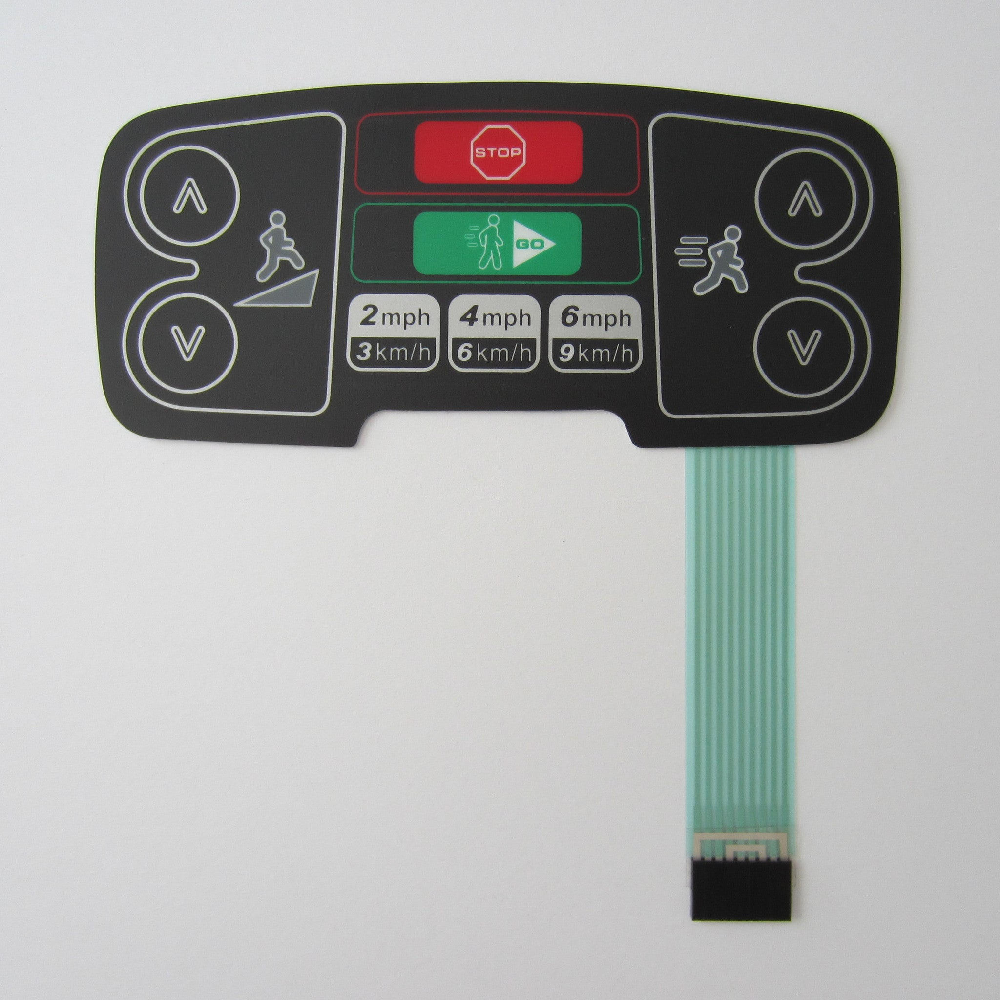 Life Fitness 95T Inspire / Engage Activity Zone Overlay & Keypad 9 Pin