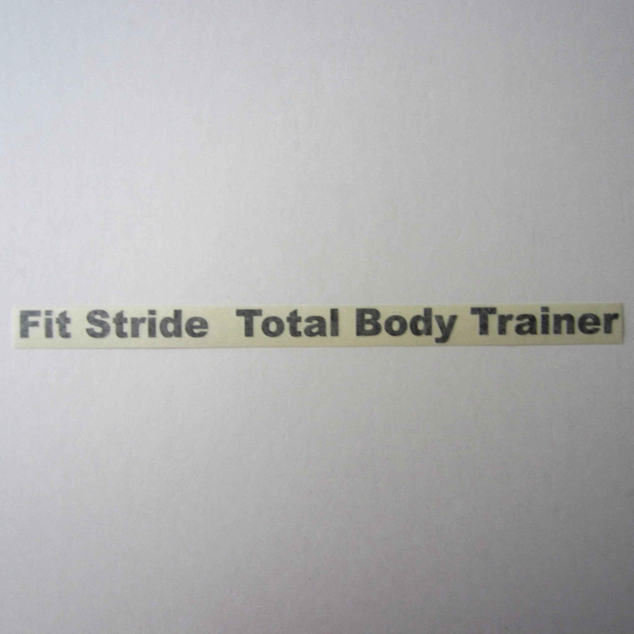 Life Fitness 95Xi/Xe Fit Stride Frame Decal