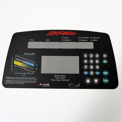 Life Fitness CT9500 Rear Drive Display Overlay