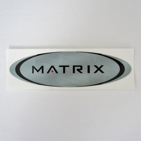 "Matrix Frame Decal 7"" x 2"""