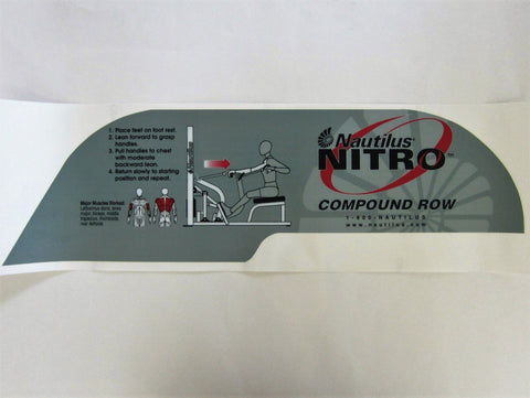 Nautilus Nitro Compound Row