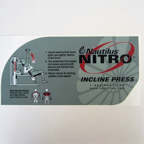 Nautilus Nitro Incline Press