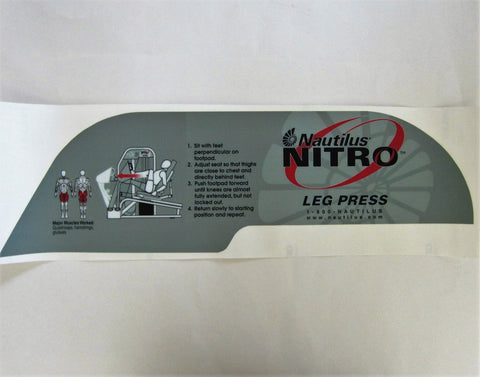 Nautilus Nitro Leg Press
