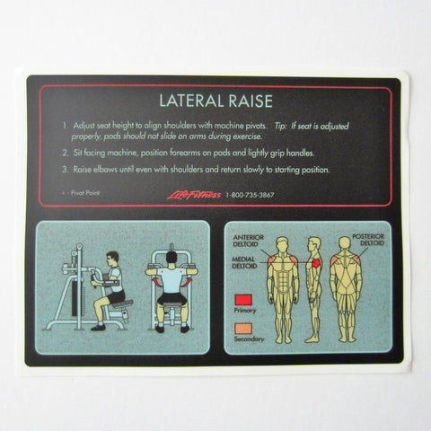 Pro 1 Lateral Raise