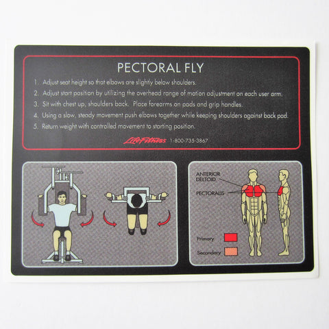 Pro 1 Pectoral Fly
