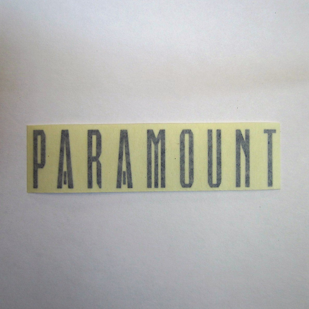 "Paramount Decal Blue 5-1/4"" x 1-1/4"""