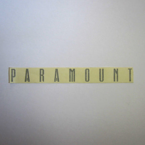 "Paramount Decal Silver 12"" x 1-1/4"""