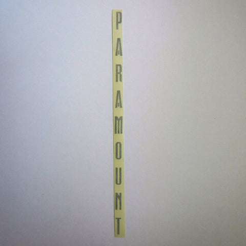 "Paramount Decal Silver 15"" x 1/2"""