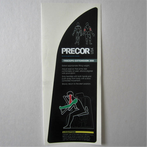 Precor 208 Triceps Extension