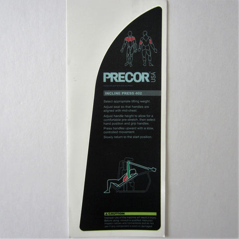 Precor 402 Incline Press