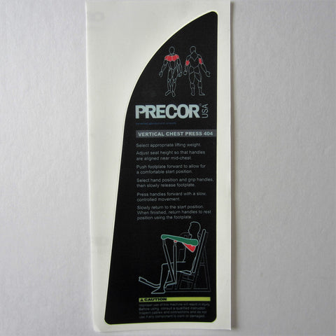 Precor 404 Vertical Chest Press