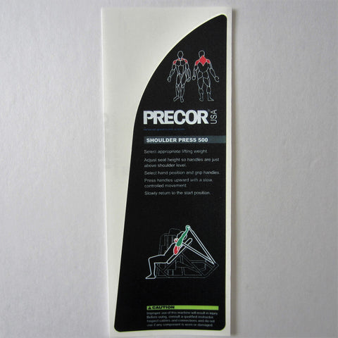 Precor 500 Shoulder Press