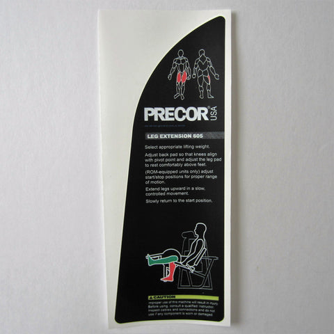 Precor 605 Leg Extension