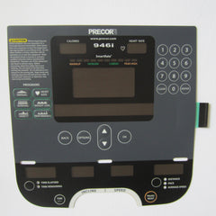 Precor 946i Treadmill Overlay / Keypad