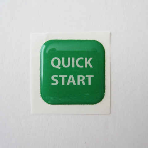 Precor Quick Start Button for D-Pad