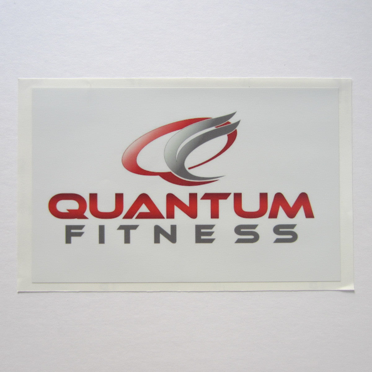 "Quantum Fitness Shroud Decal 11"" x 7"""
