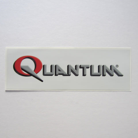 "Quantum Fitness Decal 12"" x 4"""
