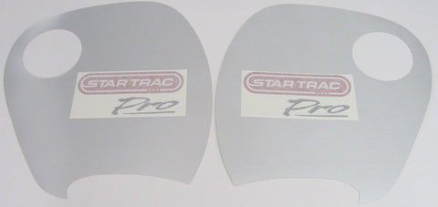Star Trac 6400 Recumbent Front Shroud Panel Overlay Set w / Decal Set