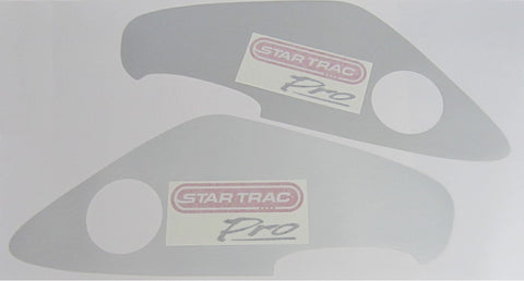 Star Trac 6300 Upright Front Shroud Panel Overlay Set w / Decals