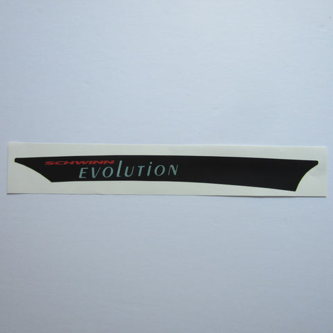 Schwinn Evolution Chain Guard Decal