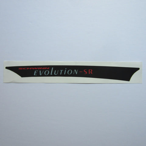 Schwinn Evolution SR Chain Guard Decal
