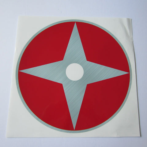 "Schwinn Evolution Wheel Decal ""Red"" Set (2)"