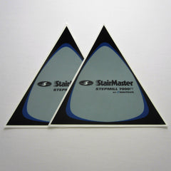 StairMaster (Nautilus) 7000PT Side Shroud Decals (Set of 2)