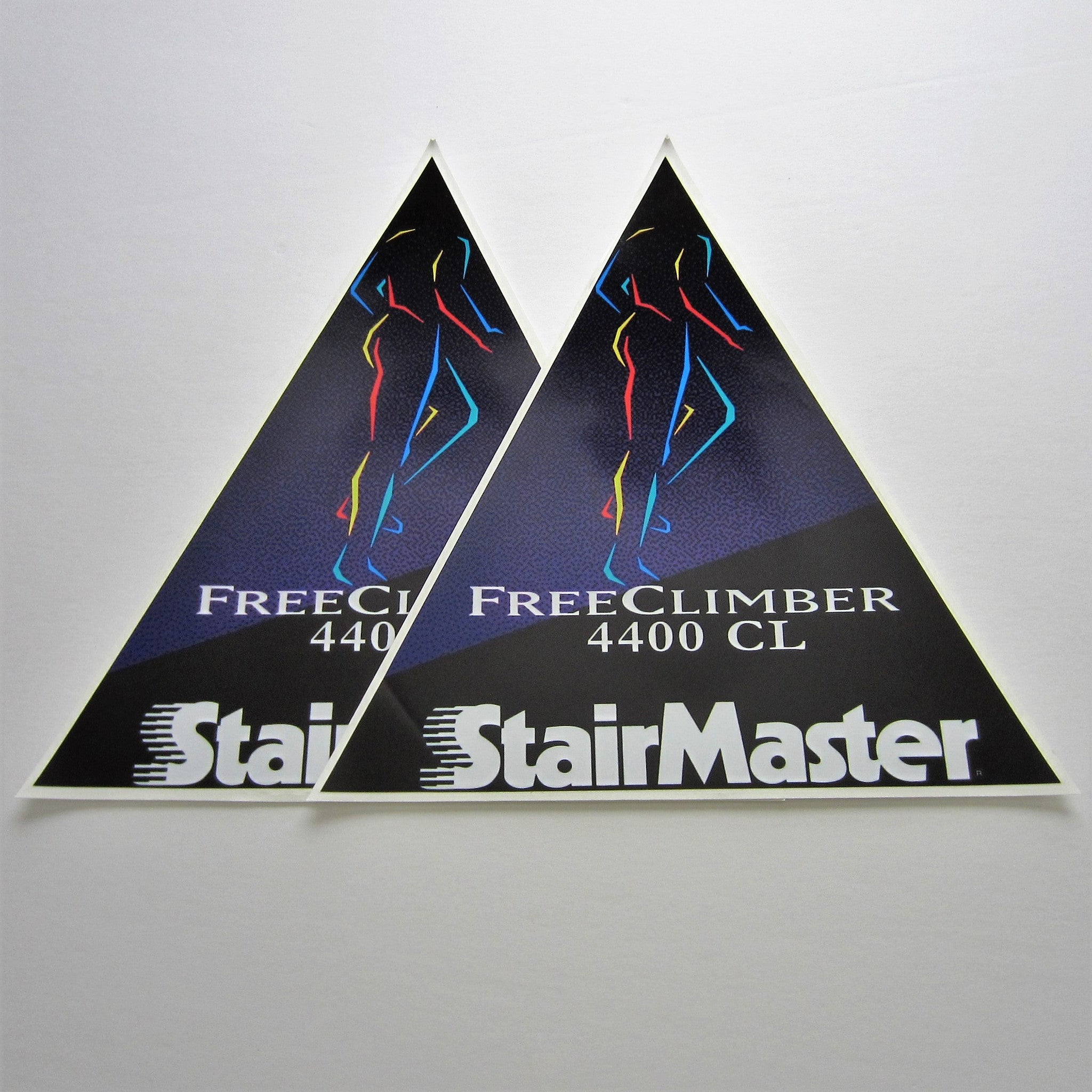 StairMaster 4400CL Side Shroud Decals w/ SM (Set of 2)