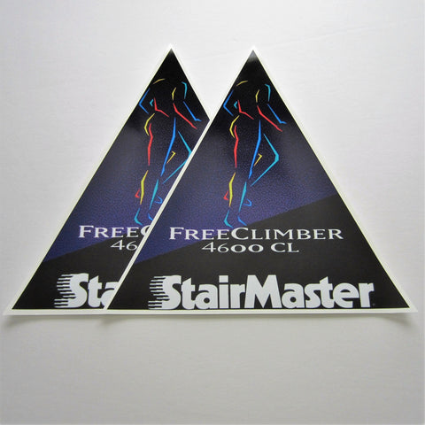 StairMaster 4600CL Side Shroud Decals w/ SM (Set of 2)