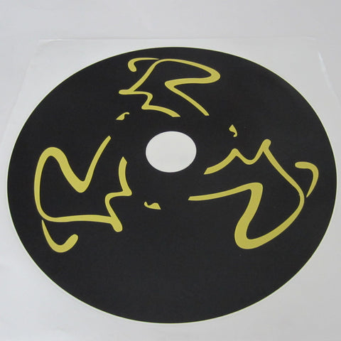 NXT Wheel Decal Set ( 2 ) Black & Yellow