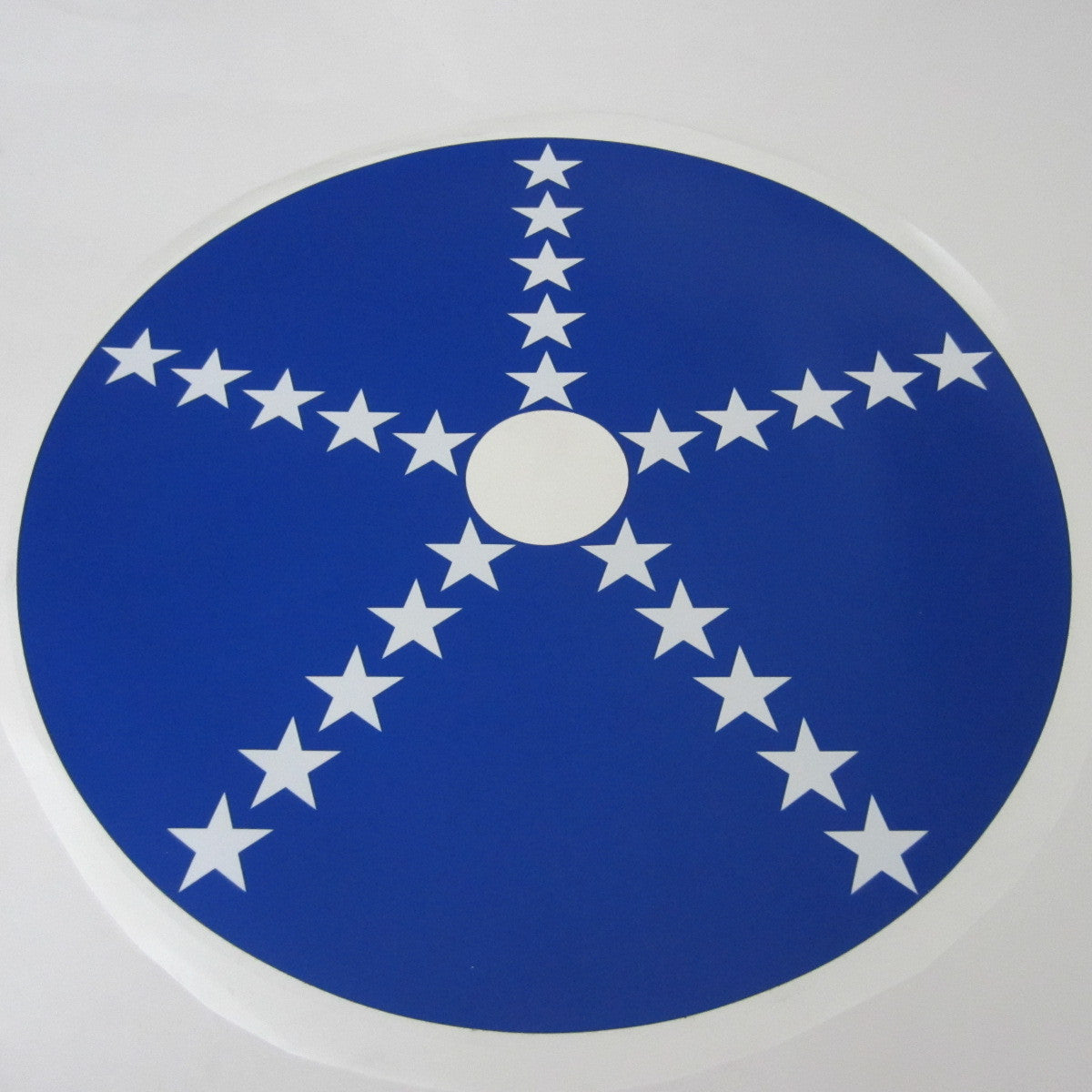 NXT Wheel Decal Set Blue & White