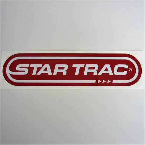 Star Trac Treadmill Deck Decal