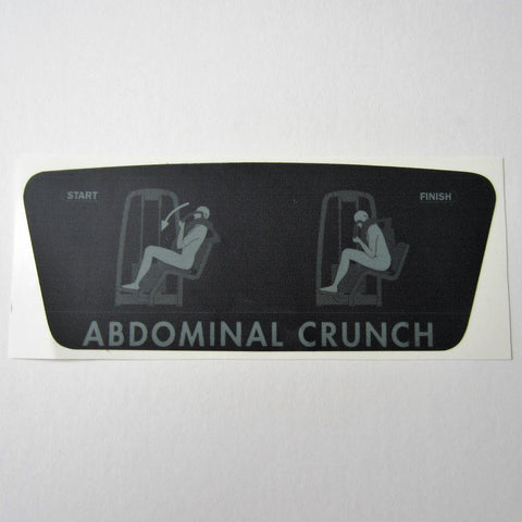 TechnoGym Abdominal Crunch