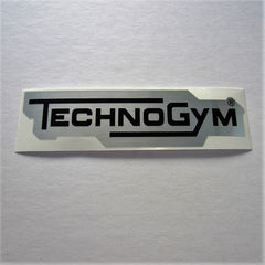 "TechnoGym Decal 8"" x 2"""