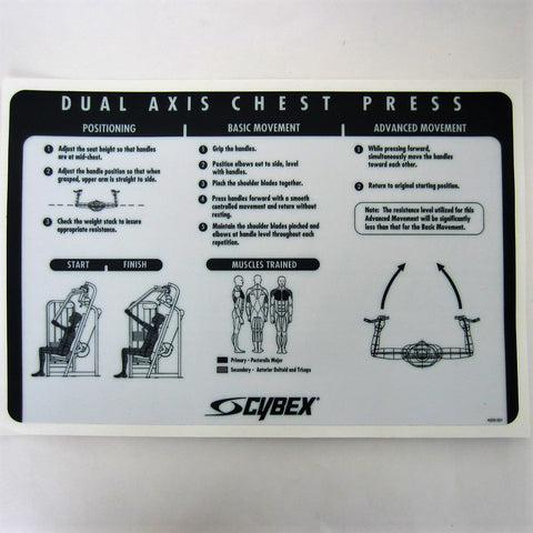 Cybex VR2 Dual Axis Chest Press