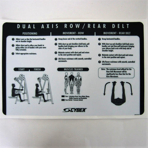 Cybex VR2 Dual Axis Row/Rear Delt