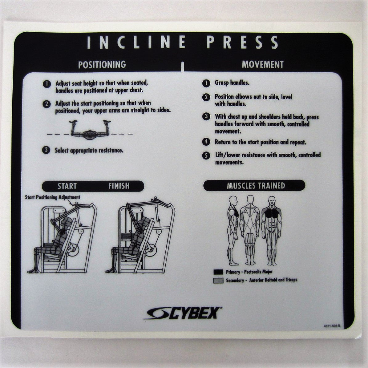 Cybex VR2 Incline Press