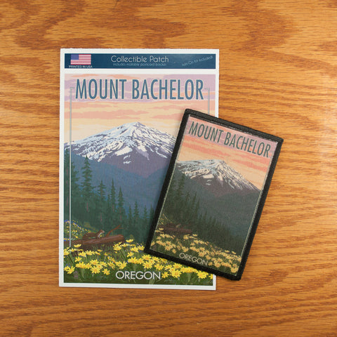 Mt. Bachelor Patch - Simply Bend Souvenirs