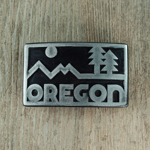 OREGON Belt Buckle - Simply Bend Souvenirs