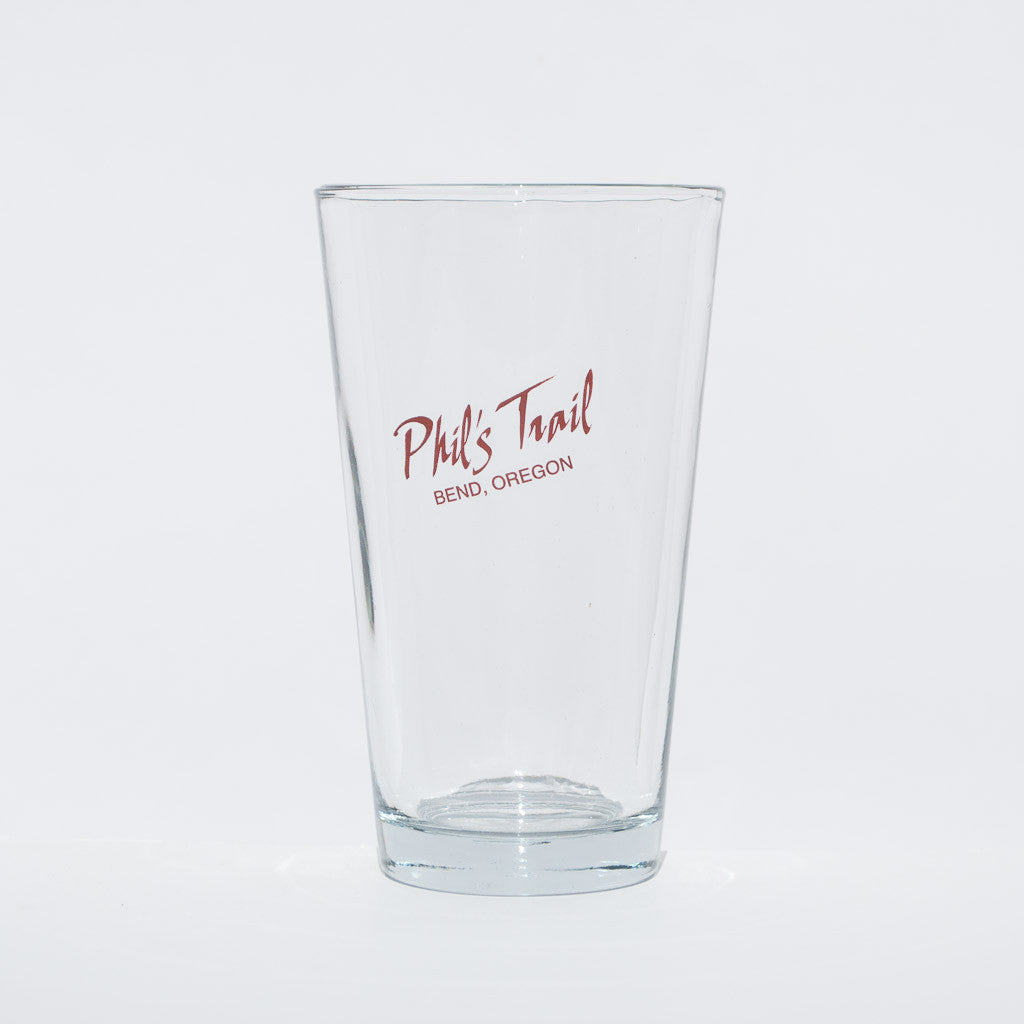 Phil's Trail Pint Glass - Simply Bend Souvenirs