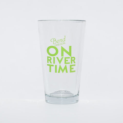 On River Time Pint Glass - Simply Bend Souvenirs