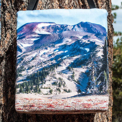 Clear Day on South Sister Tote - Simply Bend Souvenirs