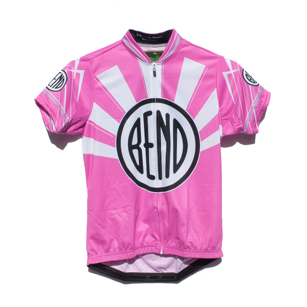 Women S Bend Oregon Logo Bike Jersey Simply Bend Souvenirs